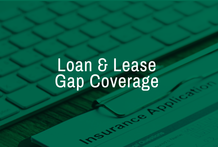 Loan & lease Gap Coverage